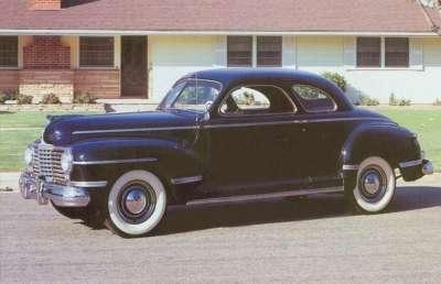 Cal Bennett's 1945 Black Dodge Sedan