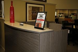 Cal Bennetts Office Furniture Showroom