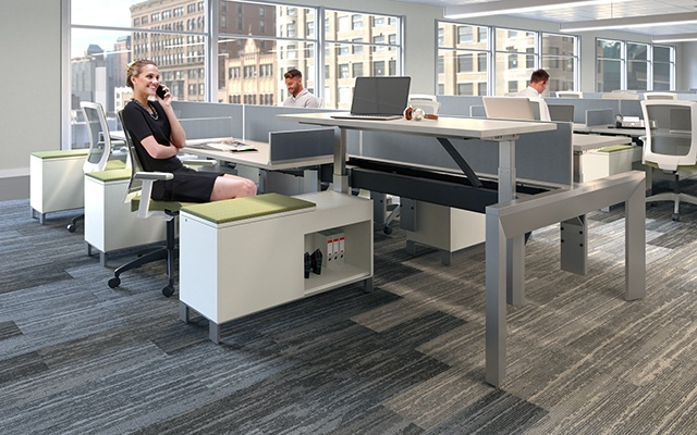 Allsteel Stride Benching | Cal Bennetts Office Furnishing